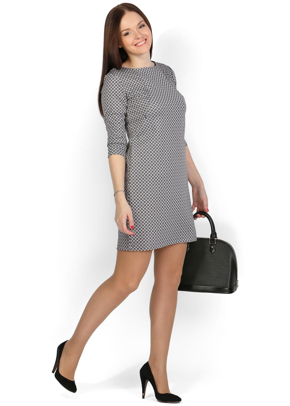 8762275e42b5 Купить платье для кормления в Минске, Платье «Грейс» черные звездочки для  кормления грудью