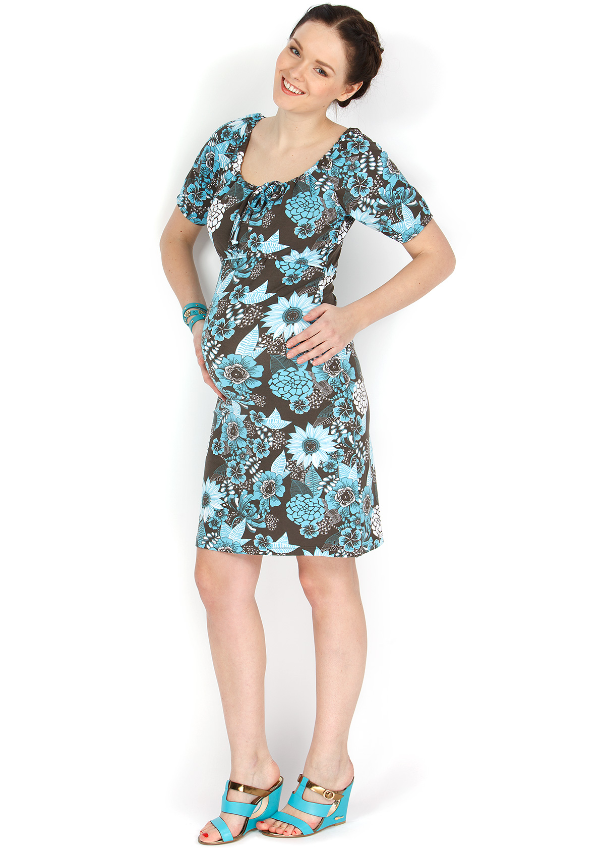 001550cacf50 Летнее платье для беременных и кормления грудью купить в Минске, Платье  ПВ08 цветное для беременных