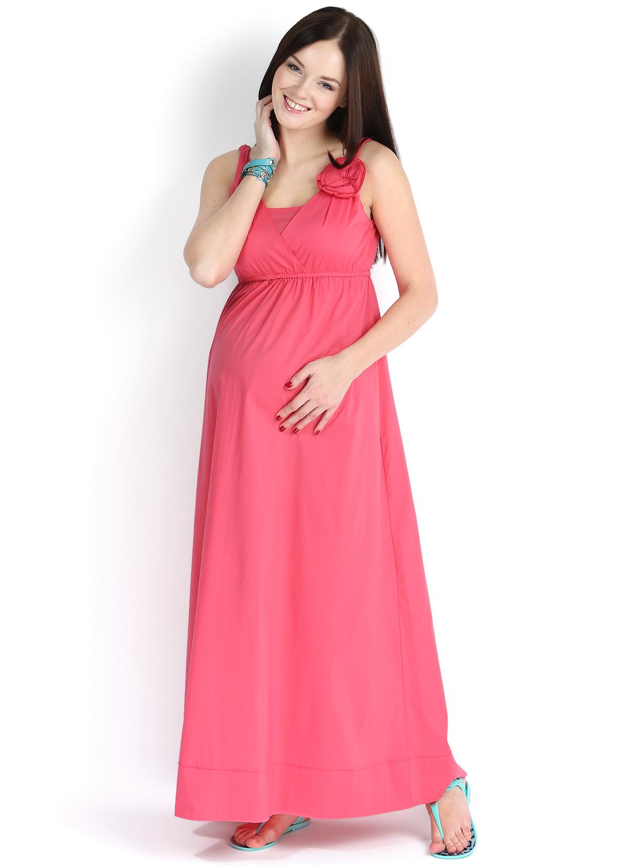 Платье из поплина для беременных 43