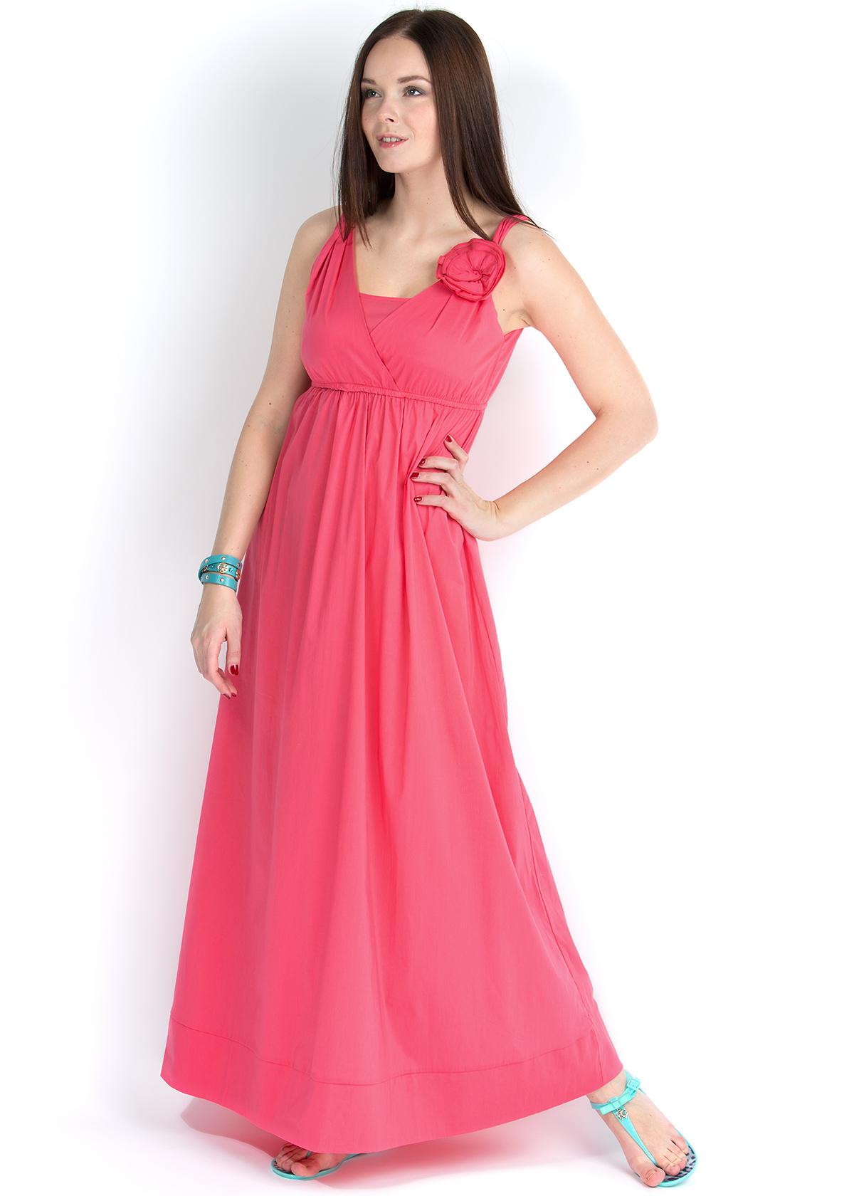 Платье из поплина для беременных 72