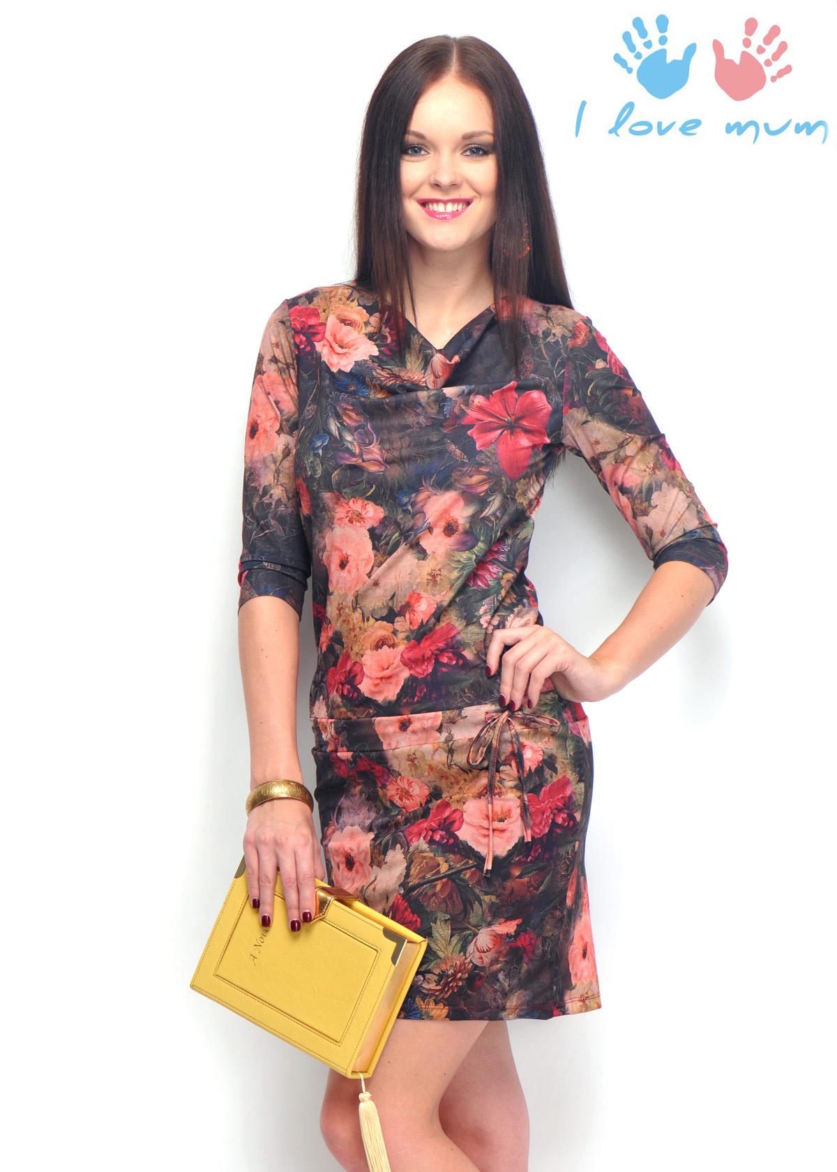 Платье «Тесса» для кормящих грудью мам, одежда для кормящих мам в Минске, ee58969063c