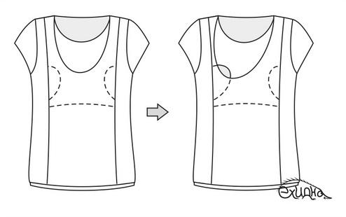 секрет кормления  в одежде для кормящих мам