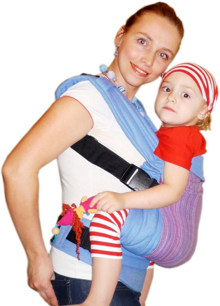 эрго-рюкзак с регулируемой спинкой