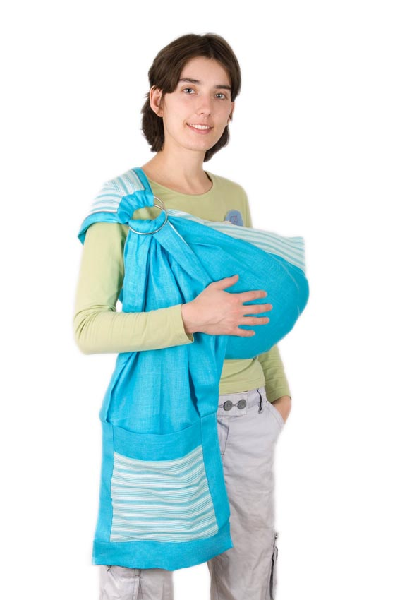 Слинг для грудного ребенка своими руками