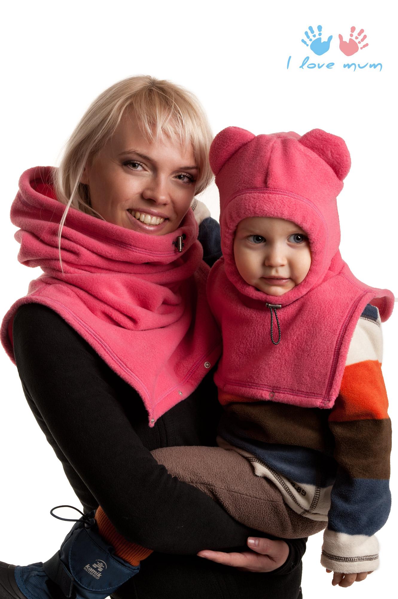 Флисовый шарф детский своими руками