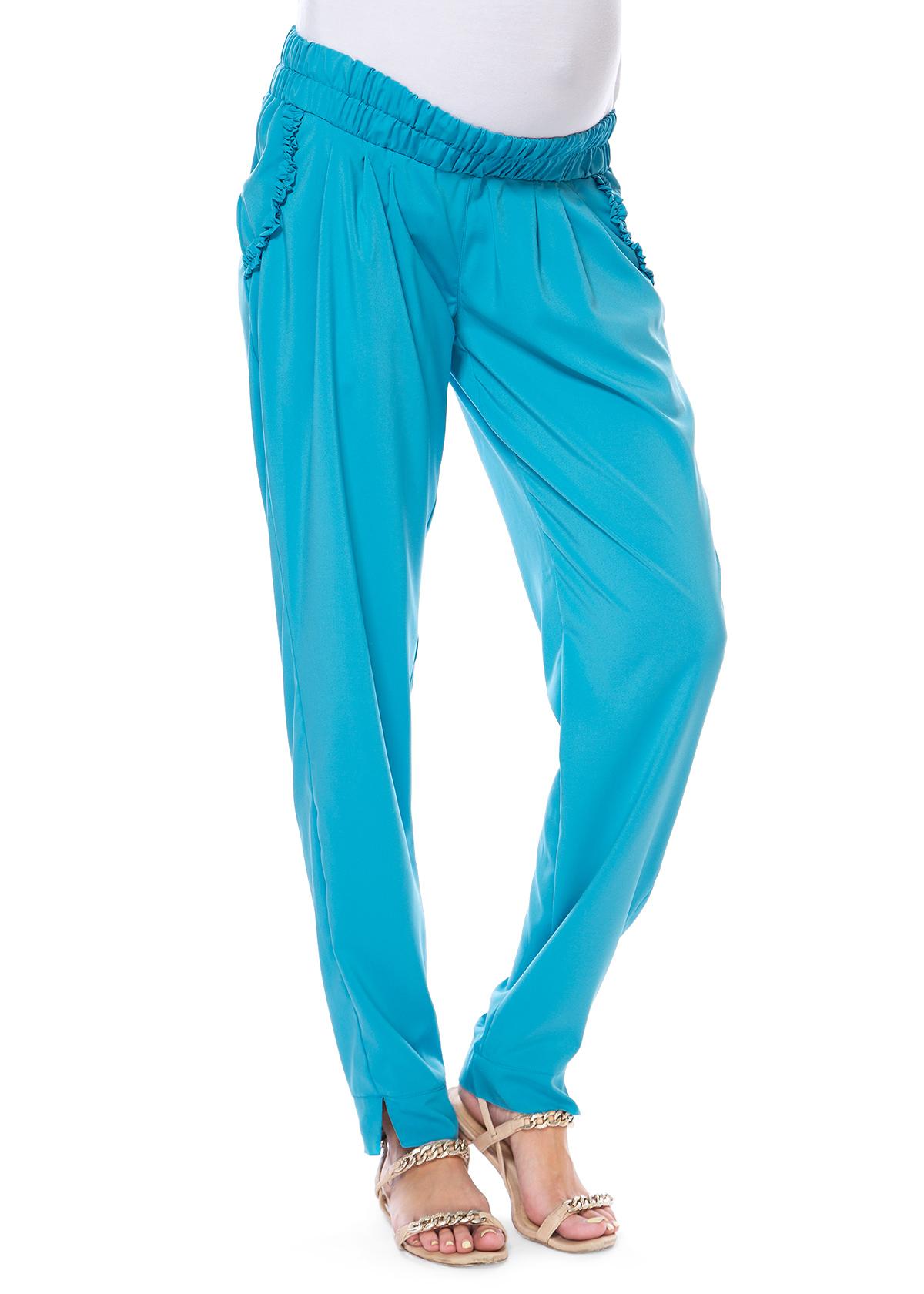 Бирюзовые брюки доставка