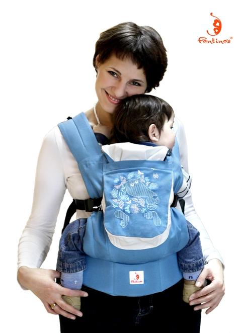 Рюкзак-переноска(слинг-рюкзак, эргономичный)Влюбленный Бонифаций.
