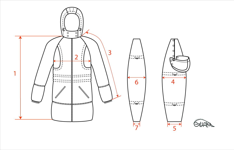 Как сшить зимнюю куртку мужскую 85