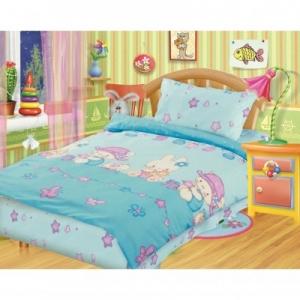 Комплект постельного белья в детскую кроватку «Игрушки» (ТМ «Непоседа»), (арт. 263941)