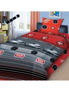 Купить детское постельное белье  4YOU  в Минске, спальное белье в детскую, Детские комплекты постельного белья в интернет-магазине МамаМия, Комплект постельного белья  «Суперкар » 4YOU, 1,5 спальный