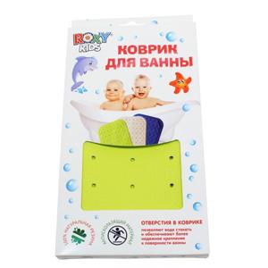 Резиновый коврик с отверстиями для ванны