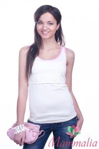 Майка для кормления Маммалия Like, Молочный-розовый