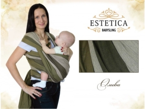 """Слинг-шарф """"ESTETICA"""". Размер 4,3 м, 4,7 м., 5,3м. Расцветка Олива"""