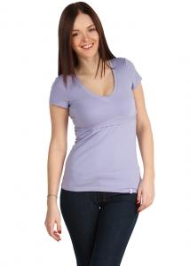 31f4d5c0141b Купить футболку для кормления грудью в Минске, Футболка ФХ06 светлая сирень  для кормящих грудью мам