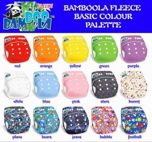 Комплект: многоразовый подгузник «Bamboola Fleece» + впитывающий вкладыш  «Abcorb Liners Extra» (Мульти-дайперс)