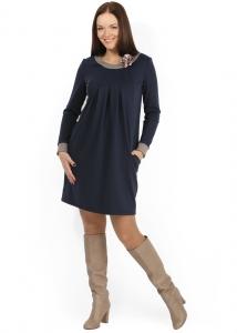 Платье «Франка» для беременных и кормления грудью, Новинки одежды для беременных и кормящих грудью мам коллекции «Осень-зима-2014» уже можно купить в Минске!