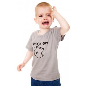 смешная детская футболка
