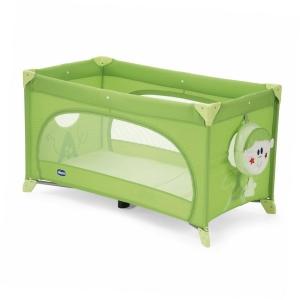 2в1 Детская кроватка-манеж CHICCO EASY SLEEP Цвет GREEN