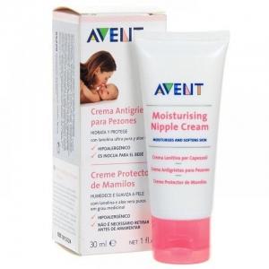 Avent   65220Увлажняющий крем для сосков  (Предотвращает появление трещин) 30 мл