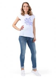 Джинсы мод. 733 голубые для беременных