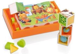 Для самых маленьких Smoby 211126 Кубики развивающие
