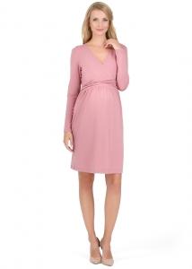 """Платье """"Жаннет"""" орхидный для беременных и кормящих купить"""
