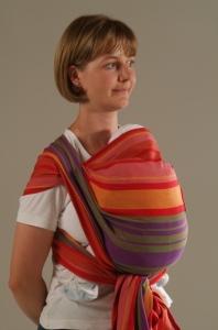Тканый слинг-шарф Storchenwiege (Шторхенвинге), прокат в Минске, интернет-магазин МамаМия