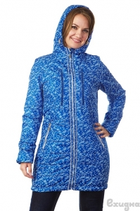 Демисезонная куртка 3 в 1 «Челси», для беременных и слингоношения, ласточки/синие ПОД ЗАКАЗ, 4999 RUR