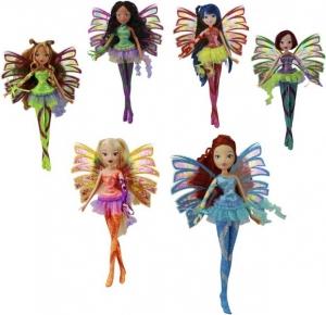 """Кукла WINX CLUB """"Сиреникс""""  Блум, Стелла, Флора, Муза, Лейла и Текна."""