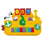 """Kiddieland 049254 Развивающая игрушка Пианино """"Ноев ковчег"""" (свет, звук)"""