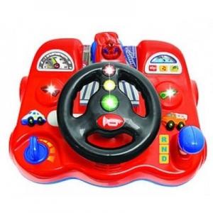 Kiddieland 043331 Развивающая игрушка  Спайдермен-водитель (свет, звук)