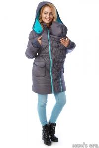 Зимняя куртка 3 в 1 «Глиона» грей