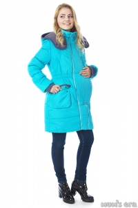Зимняя куртка 3 в 1 «Глиона» Капри для беременных женщин и слингоношения