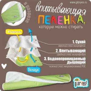 Впитывающая пеленка 120*100 Купить многоразовые впитывающие непромокаемые пеленки можно в магазинах Минска и Гродно или пересылкой по Беларуси.