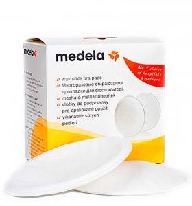 Многоразовые стирающиеся грудные прокладки (4 шт.) Medela