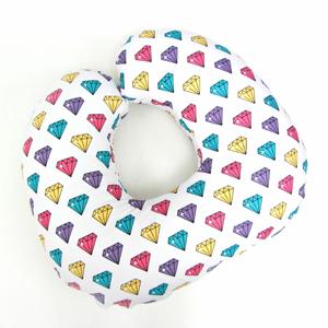 """Подушка для кормления грудью """"Цветные кристаллы"""""""