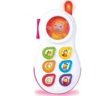 Smoby 211314 Интерактивный телефон (свет,звук,батарейки)