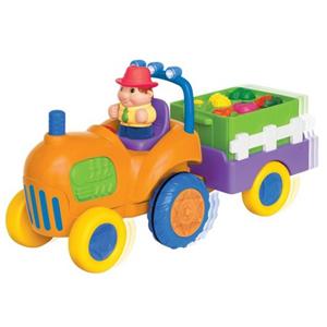 Развивающий  игровой  Трактор с овощами, Kiddieland   арт 037325