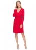 """Платье """"Жаннет"""" красное для беременных и кормящих."""