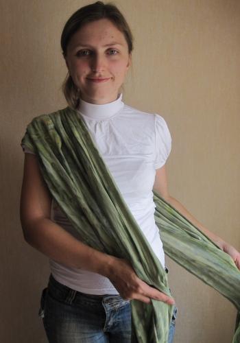 Намотка крест на бедре.  Как завязывать.  Фото инструкция к слингу шарфу.