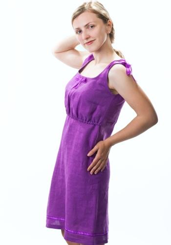 Перейти.  Льняная ткань достаточно прочная и надежная: чем дольше одежда из льна используется...