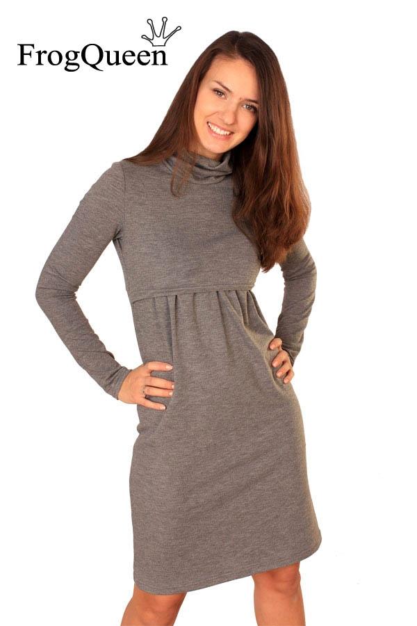 Трикотаж платье для беременной своими руками 5