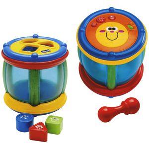 """Музыкальная игрушка """"Барабан с фигурками"""" Chicco + Сортер."""