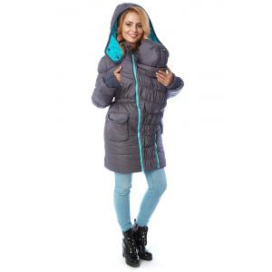 Зимняя куртка 3 в 1 «Глиона» грей для беременных и слингоношения    Интернет-магазин MamaMia.by Слинги, слингокуртки, одежда для кормящих мам и  беременных, ... 1174c1b535d